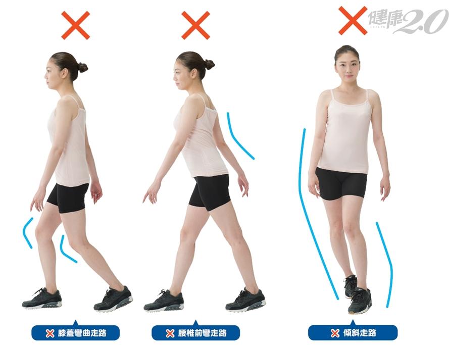 這6種走路姿勢,讓你關節變形、身體歪斜!「這樣走」不易發胖、改善身體疼痛