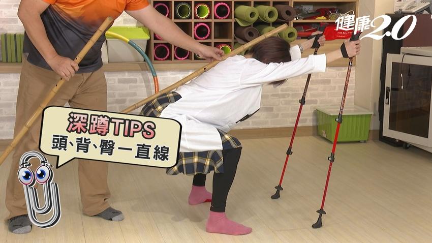 醫師親授4招「健走杖運動」 增肌力、練心肺、預防跌倒、強健行動力