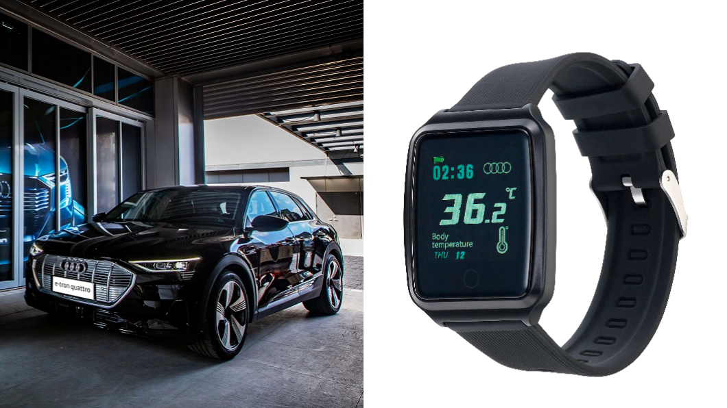 Audi回廠健檢獎品不用抽 滿額直接送Audi智能手錶