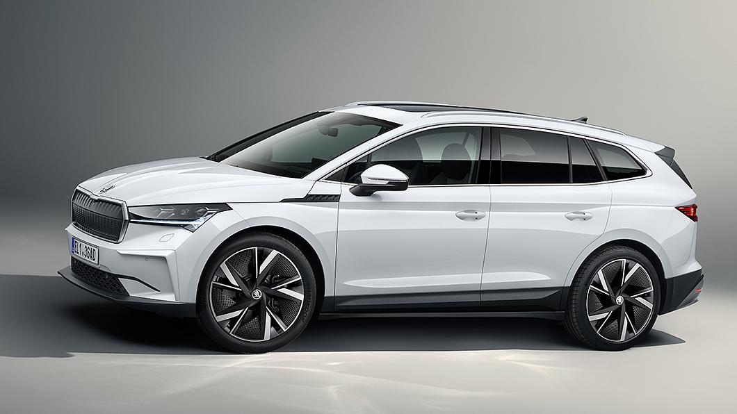 傳Škoda正在進行跑旅版Enyaq iV開發測試。(圖片來源/ Škoda) Škoda有意推電動跑旅? 傳Enyaq GT iV正在開發中