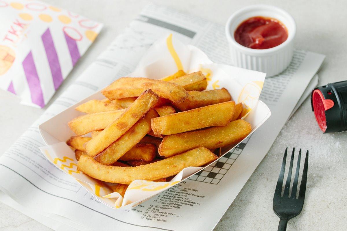 氣炸鍋開炸啦!台灣速食始祖「頂呱呱」開賣「地瓜薯條料理包」,在家就能開心吃