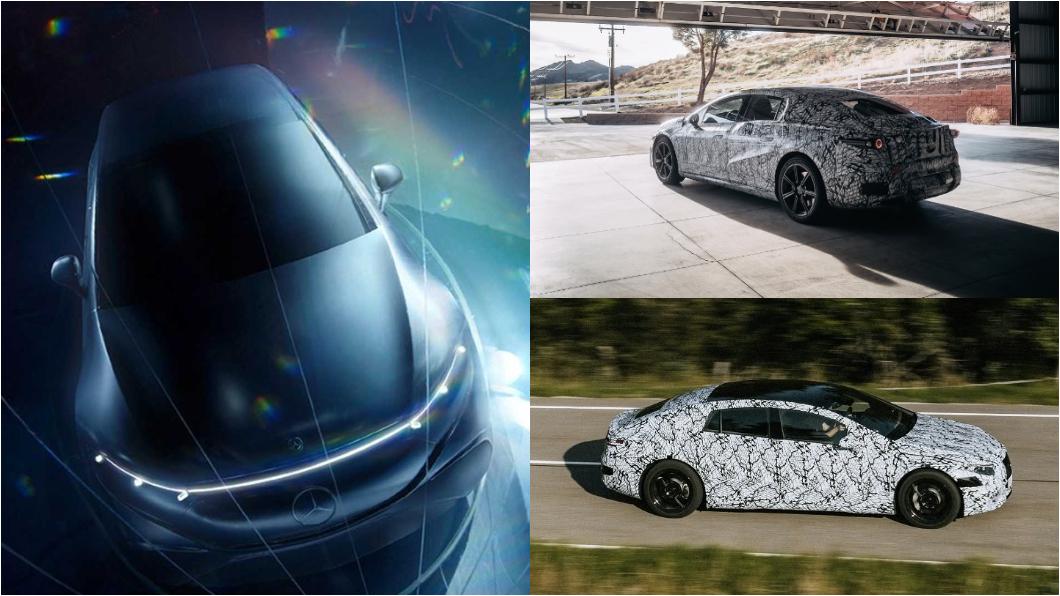 M-Benz日前發布了EQS豪華電動車預告片,針對幾項功能說明。(圖片來源/ M-Benz) 賓士電動車EQS搭載超大曲面螢幕 還提供跟手術室同等級空氣?