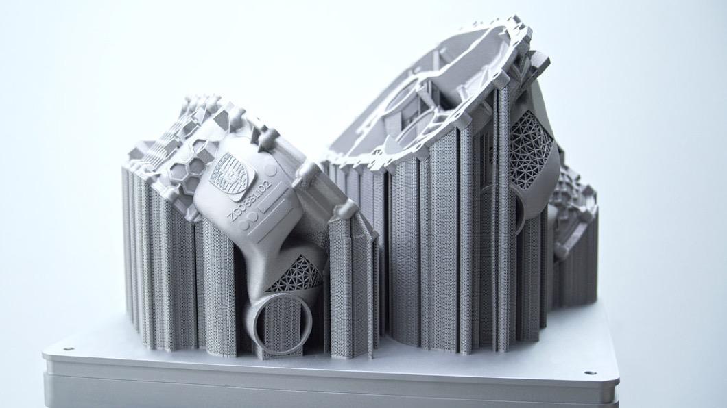 隨著3D列印技術愈來愈成熟,許多汽車品牌也開始將這項技術應用在汽車製造上。(圖片來源/ Porsche) 3D列印汽車零件? Porsche:強度、重量都更棒!