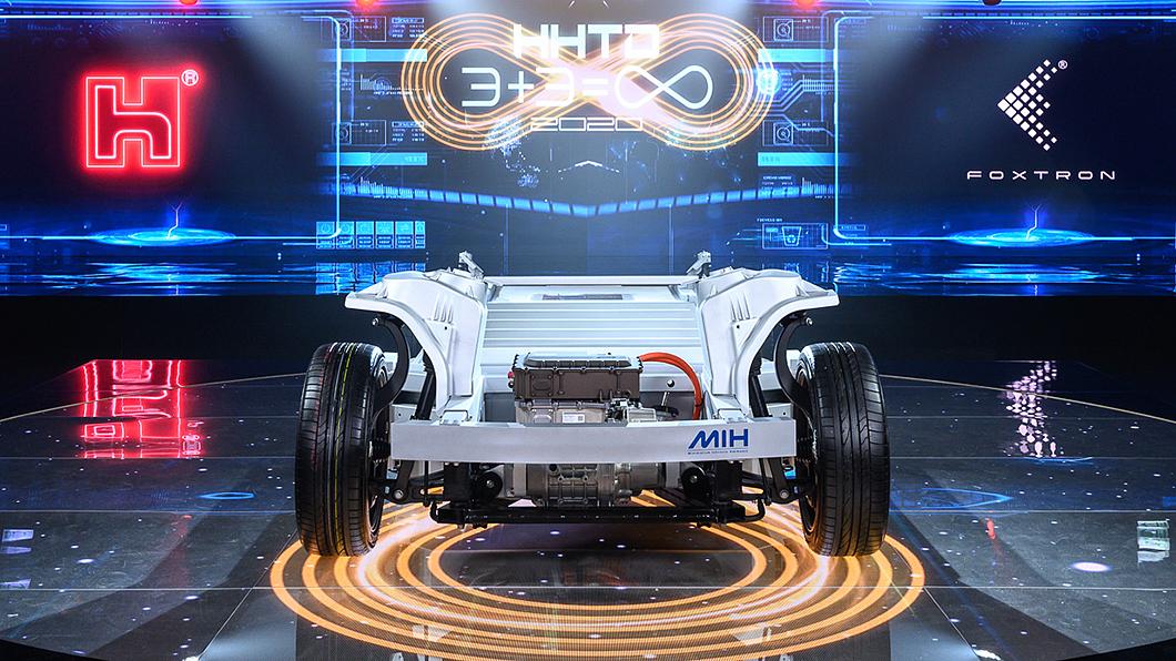 鴻海預告首款MIH平台EV Kit開發者工具將於明年1月發表。(圖片來源/ 鴻海) 鴻海電動車國際隊成形 攜手逾二百夥伴下月推出開發平台