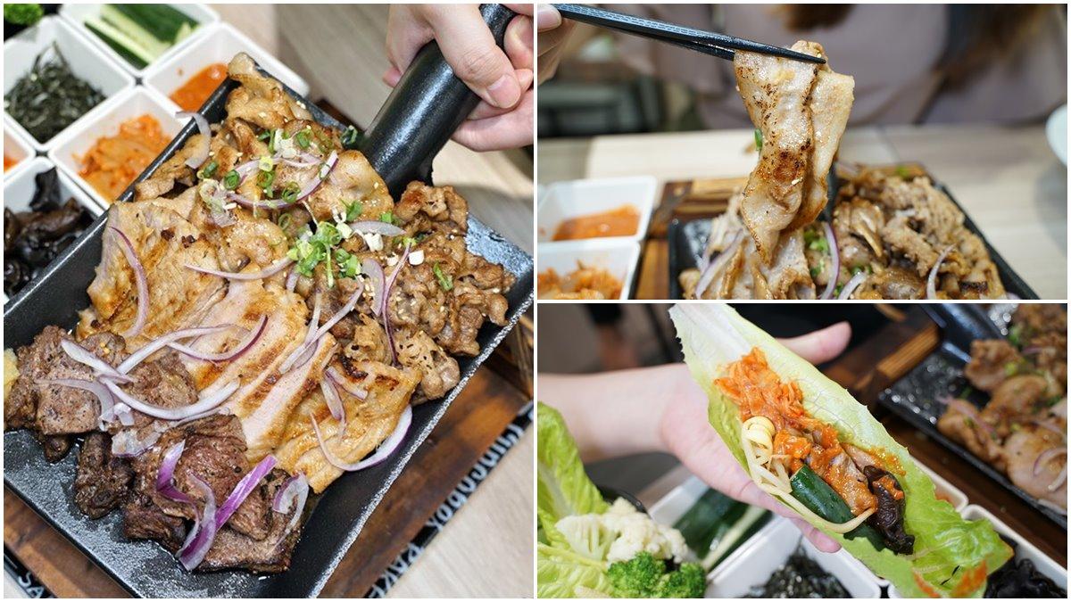 全台唯一!新竹邪惡系丼飯用鍋鏟裝肉,4種肉品、8道小菜讓你吃到翻