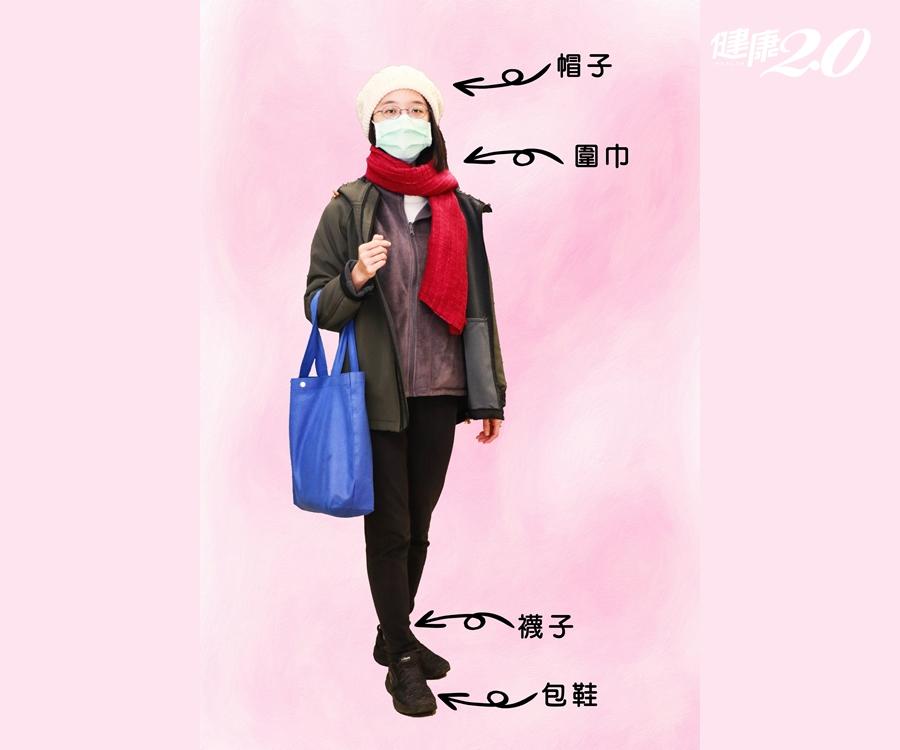 天冷注意保暖5部位!外套裡「加一件」 這樣穿避免風寒入侵