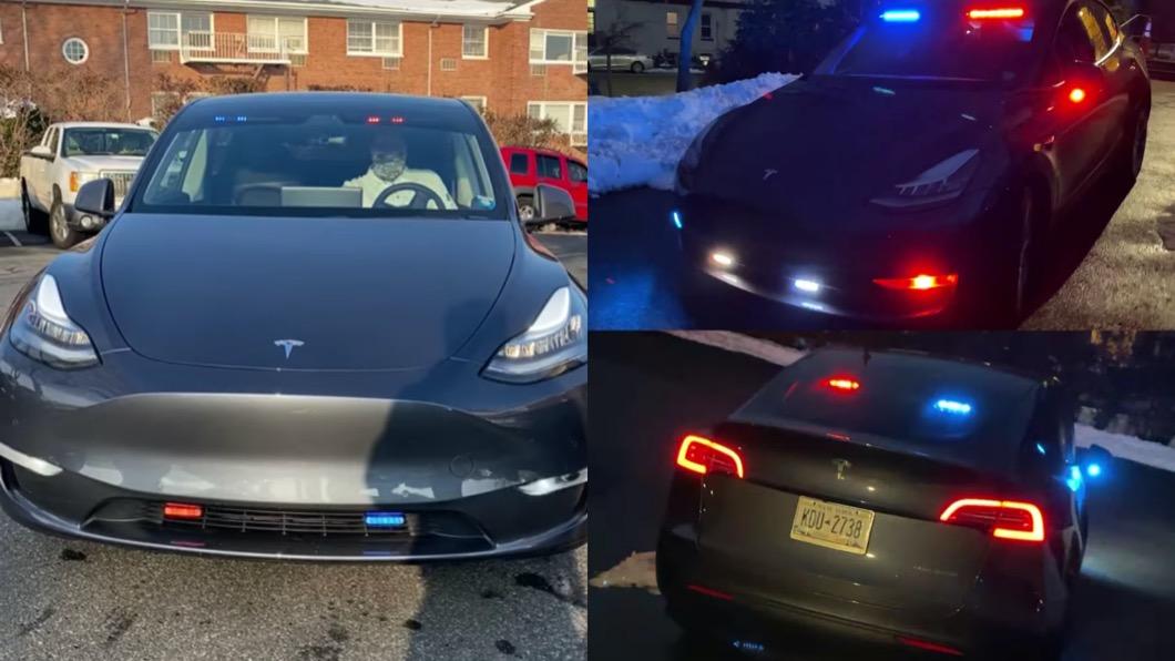 美國已經有警政單位看準Model Y的優點,採購這款電動跨界休旅當作警車用途。(圖片來源/ Hastings on Hudson Police Department) 紐約警方採購Model Y當警車 預估五年省下「高額油資」