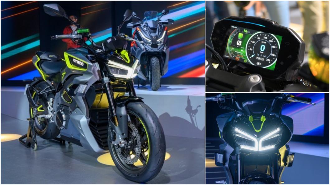 在Kymco 11/26的新車發表會中,RevoNEX電動街車再度登場。(圖片來源/ 地球黃金線) 不只能代步通勤 台灣品牌要推性能「電動重機」!