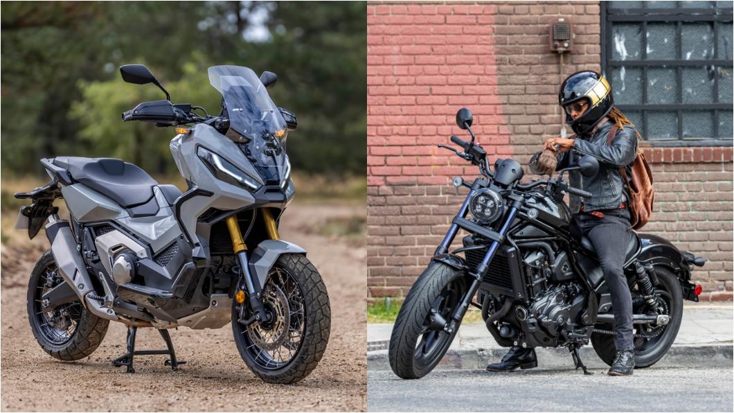 多功能大型速克達X-ADV,以及公升級巡航車款Rebel 1100,兩款車目前已開始展出並接受預售,預接價格為49.8萬元,今年第二季正式到港交車。(圖片來源/ Honda) Honda Rebel1100、21年式X-ADV開始接單 預售價49.8萬元