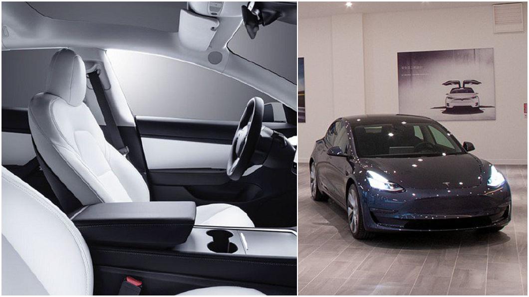 Tesla1月9日宣布下週將在台灣推出第一批白內裝版本Model 3。(圖片來源/ Tesla) 限量白內裝Model 3下週來臺 只有展間能買不開放線上訂購