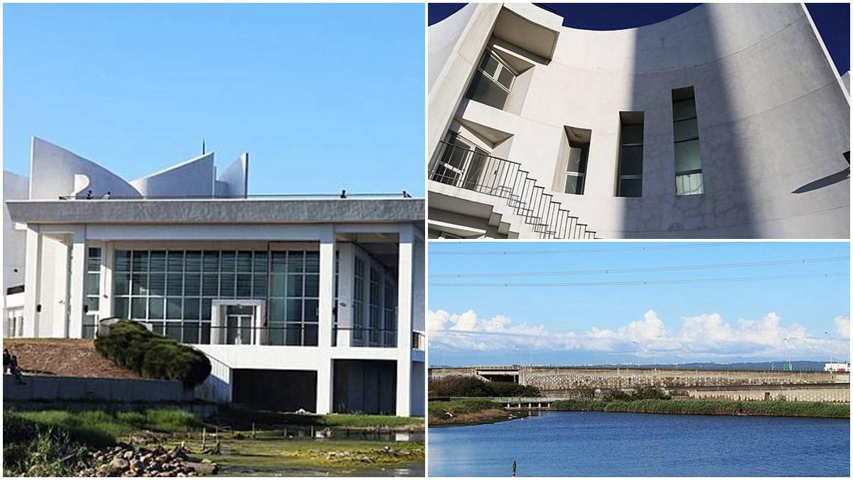 網美快朝聖!彰化「弧形白牆建築+旋轉階梯」必拍,還能賞療癒海港風景