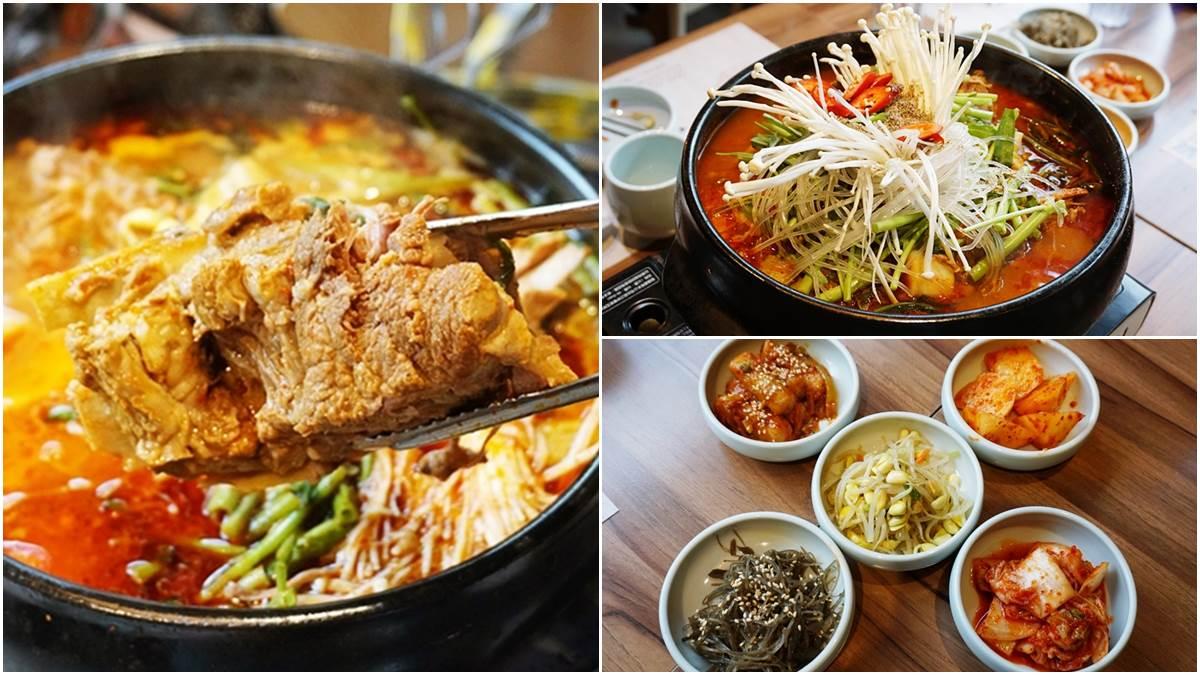 免飛韓國台北也吃得到!道地「馬鈴薯排骨湯」輕輕一掰骨肉分離,還有5種小菜無限點