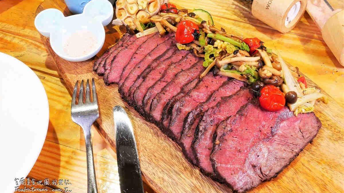 大胃王快來挑戰!台南義法小館推出限量40盎司霸王級牛排,佛心價只要1499元
