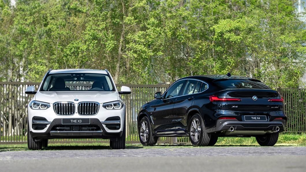 BMW總代理汎德將7日發表全新BMW X3、X4白金領航版,提供150萬60期0利率、1年乙式全險及尊榮租賃專案。(圖片來源/ BMW) BMW X3、X4白金領航版正式登台 搭載多項升級配備