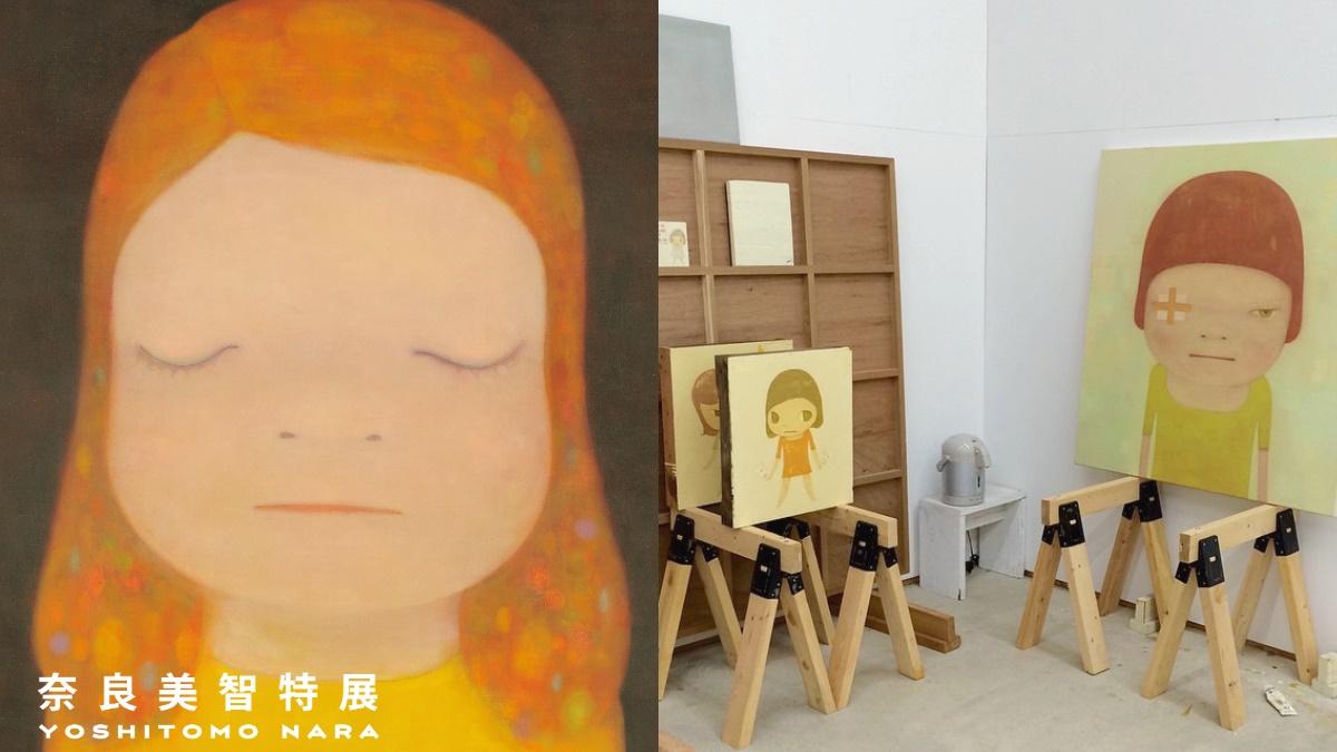 粉絲歡呼了!「奈良美智特展」這時首度登台,高雄、台南巡迴也有機會