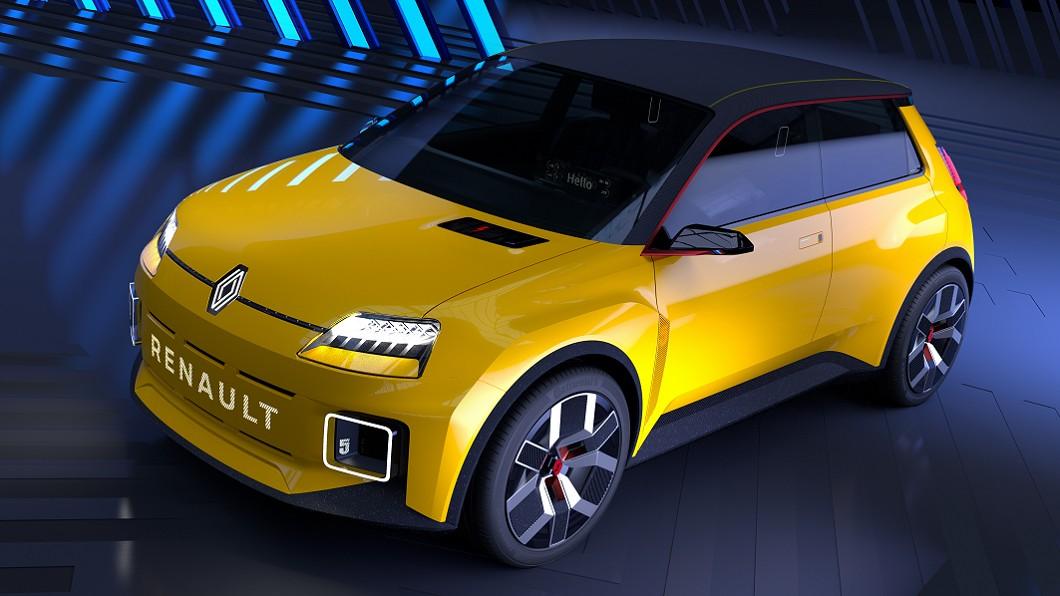 Renault以經典掀背小車Renault 5為原型,打造新一代電動原型車。(圖片來源/ Renault) Renault 5經典重生 電動復古風潮正夯