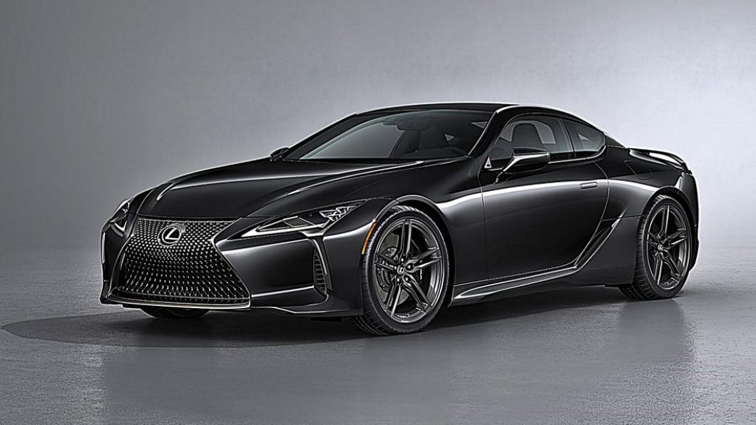 Lexus在美國市場推出Lexus LC 500 Inspiration Series,可視為是配備升級的黑色版本LC 500。(圖片來源/ Lexus) 21年式LC 500「靈感」特仕車發表 全車黑化再加碳纖尾翼