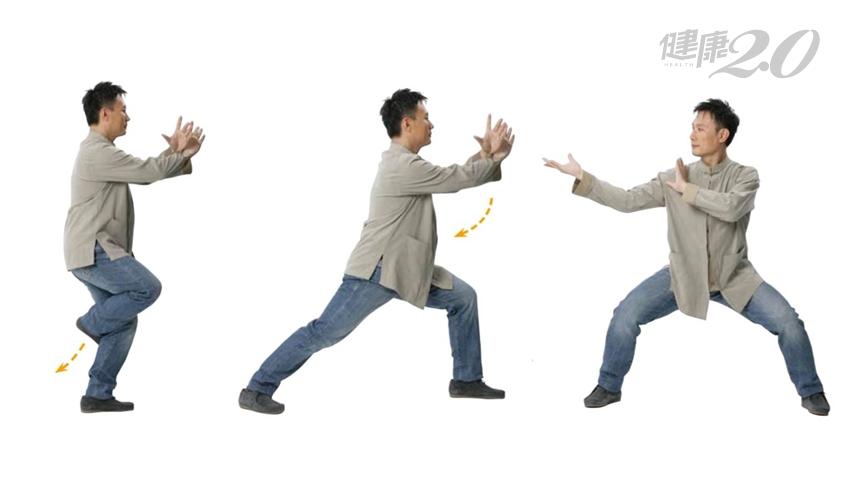 經常腰痠、腰痛、雙腿無力?「退步跨虎」強健腰腿 老人走得動、走得遠