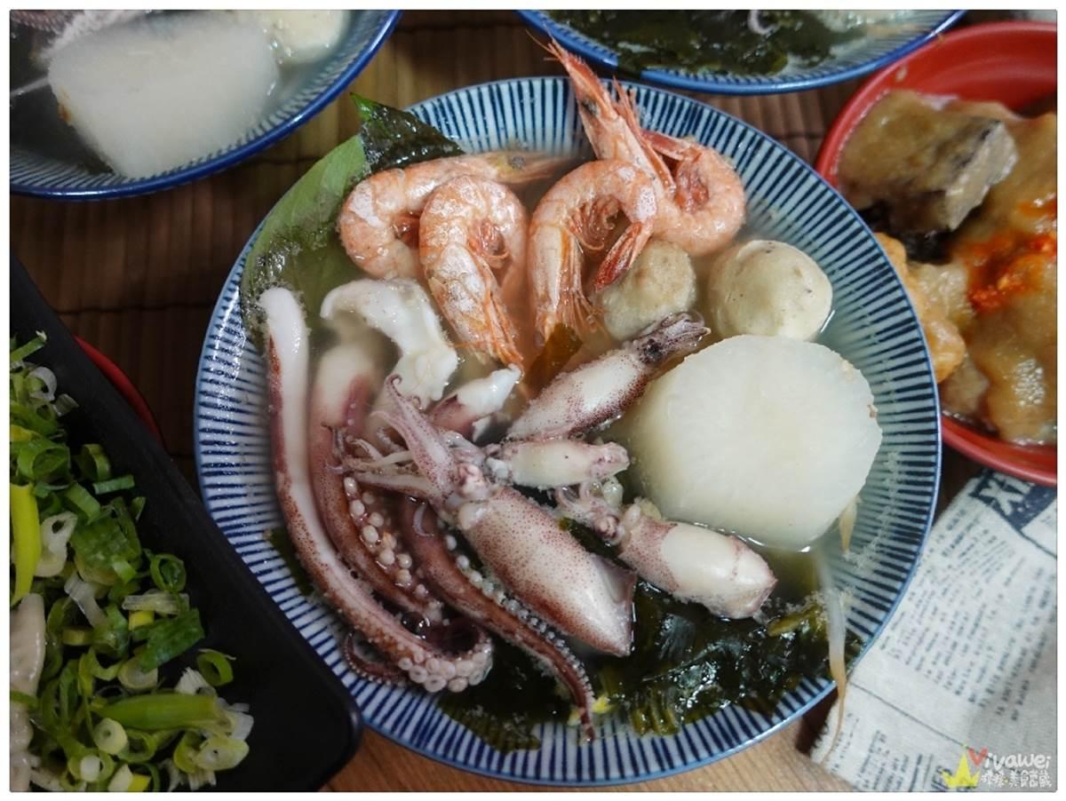 苗栗高CP小吃店給料不手軟!滷肉飯放天使蝦、蒸餃包大干貝、小卷湯麵鋪滿10隻