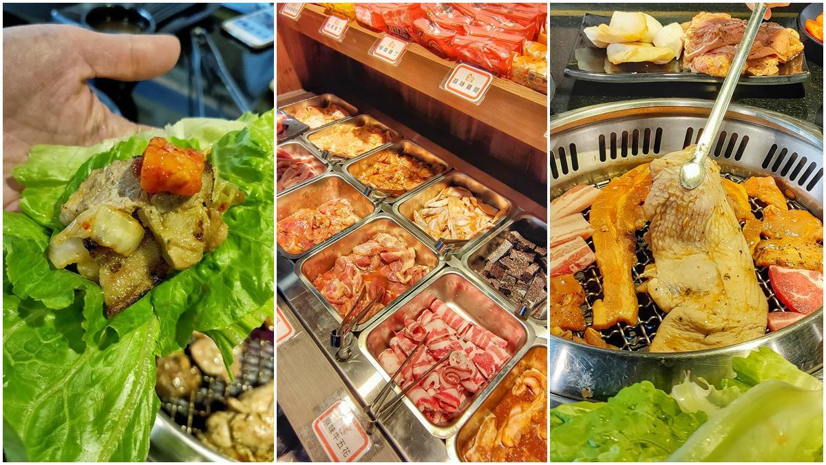 想吃先預約!桃園超狂韓式燒烤吃到飽只要299元,老饕強推必拿香草雞腿排