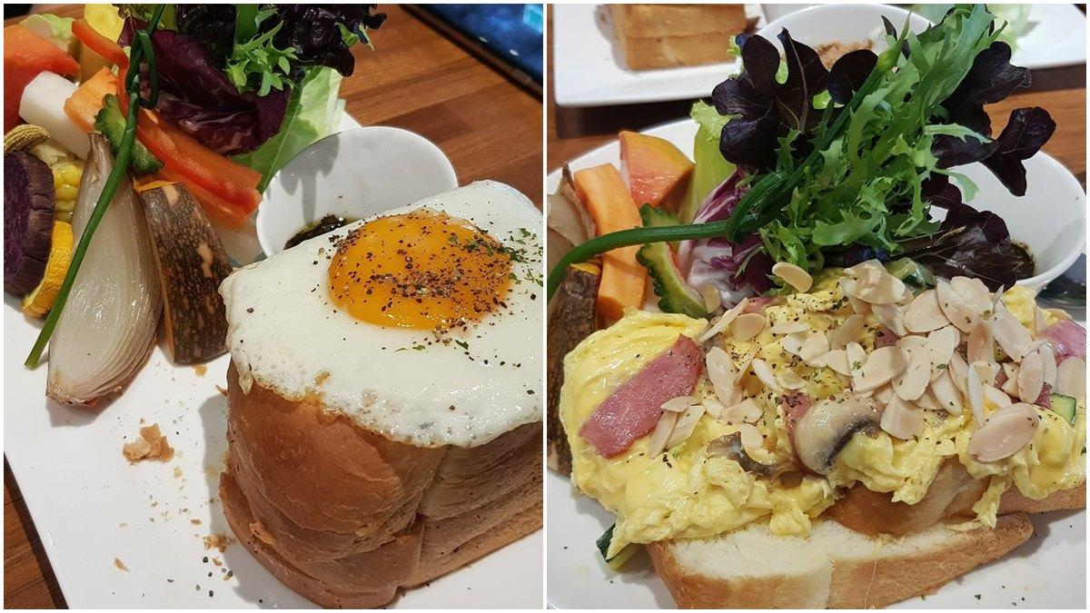 外國人也說讚!華山人氣早午餐吃得到滿滿烤蔬菜,必點法式脆皮女士、奶油培根菇菇蛋