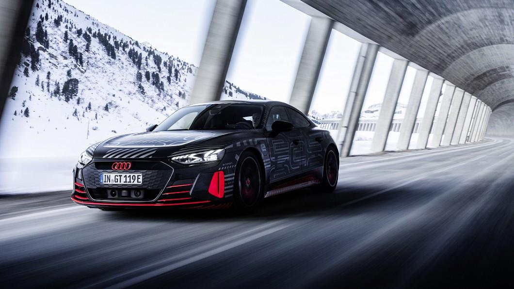 e-tron GT預告2月9日正式發表。(圖片來源/ Audi) e-tron GT確定2月9日發表 鋼鐵人最終座駕即將面世