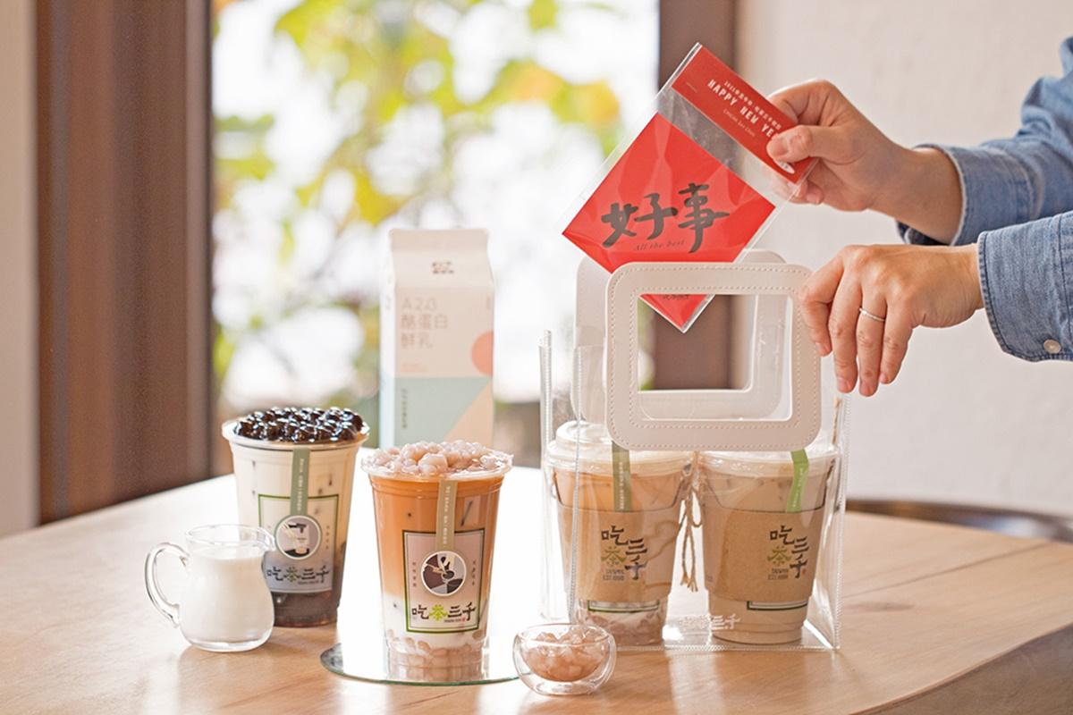 「鮮奶茶界愛馬仕」這裡喝!台中手搖「吃茶三千」芋頭、黑糖控必嘗+免費送新春福袋