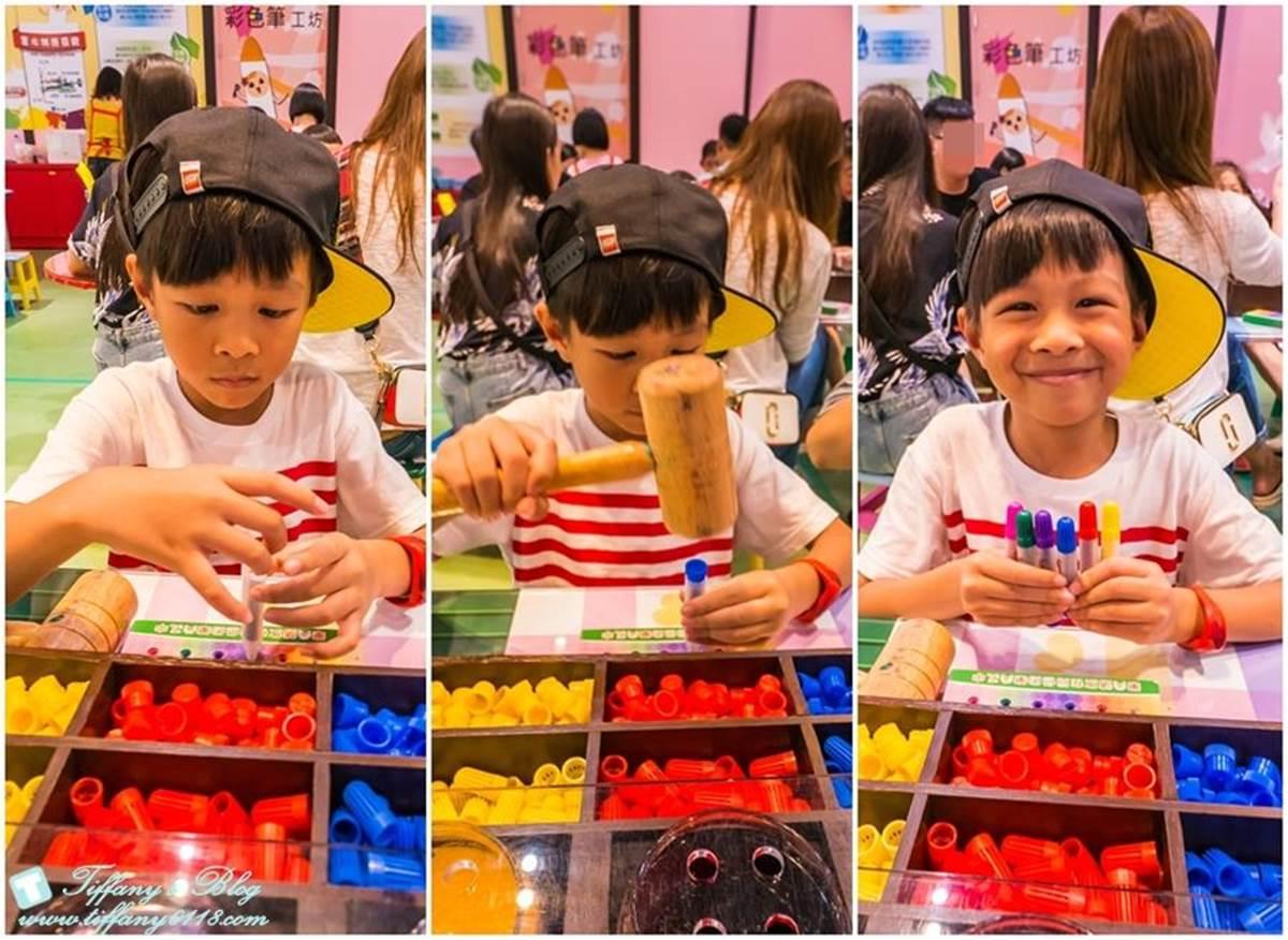 大人小孩都愛!宜蘭「蠟筆城堡」一次體驗4種手作,還能加價玩8層樓彩虹溜滑梯