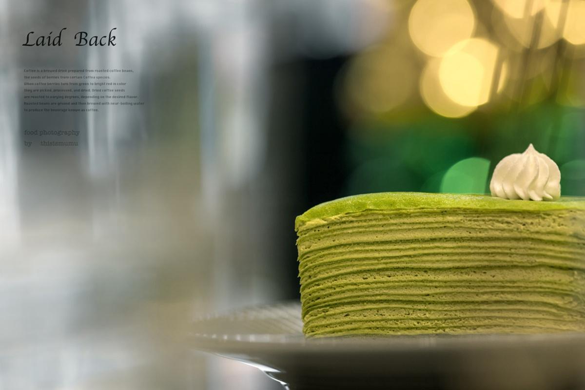 網美衝新竹!不限時質感咖啡廳綠金配色超好拍,必吃百分百宇治抹茶千層蛋糕
