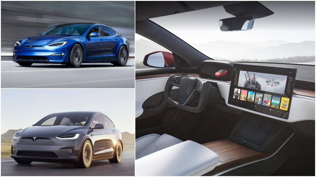 改款Model S與Model X細節首度曝光,全新科技內裝相當炫目。(圖片來源/ Tesla)  改款Model S與Model X今年底前來臺 像開飛機還能打電動?