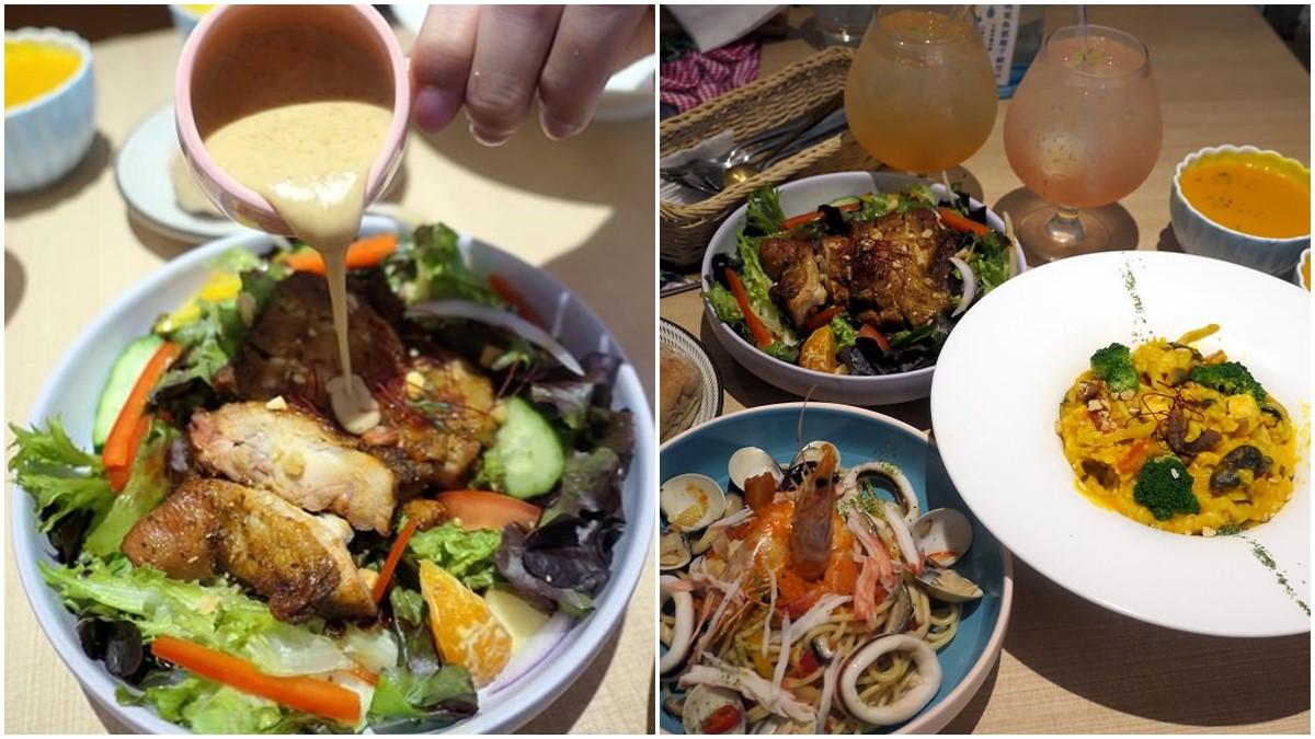 爸媽快收!桃園親子餐廳嚴選無毒健康食材,香料烤雞搭魚菜共生沙拉肉食族也愛