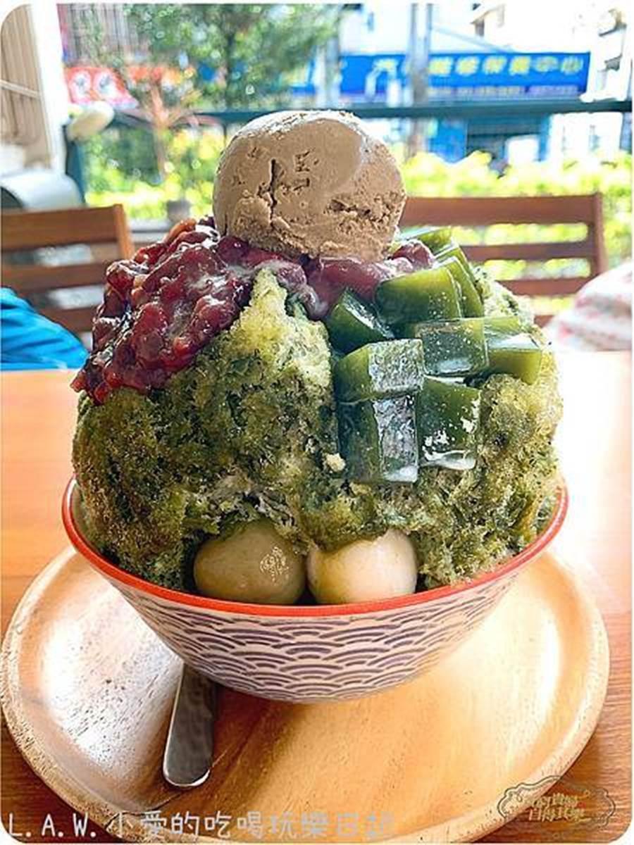 不再選擇障礙!老宅日式冰店推套餐「宇治金時+紅豆紫米粥」,冰品、熱甜湯一次享受