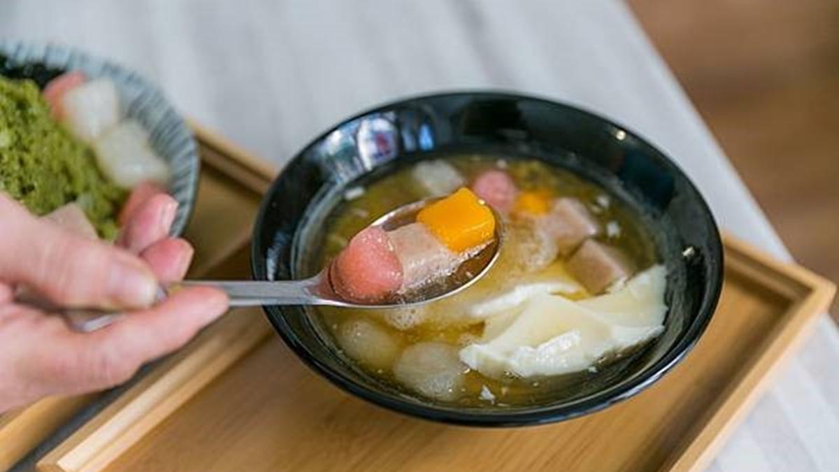 連豆漿都自己煮!桃園天然系甜品必吃鹽滷豆花+脆圓,抹茶冰4種配料只要85元