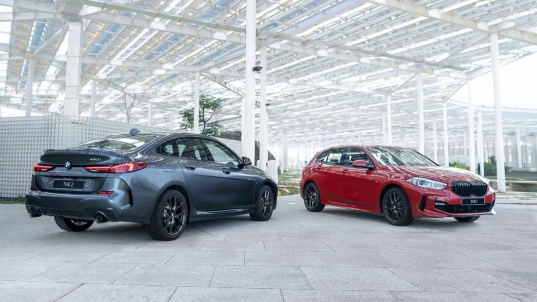 BMW 1系列與BMW 2系列Gran Coupe具有靈巧的身形,再透過優異的車身配重,帶來流暢的駕馭感受。(圖片來源/ BMW) 120i、220i Edition M上市 搭載M Sport套件售價189萬起