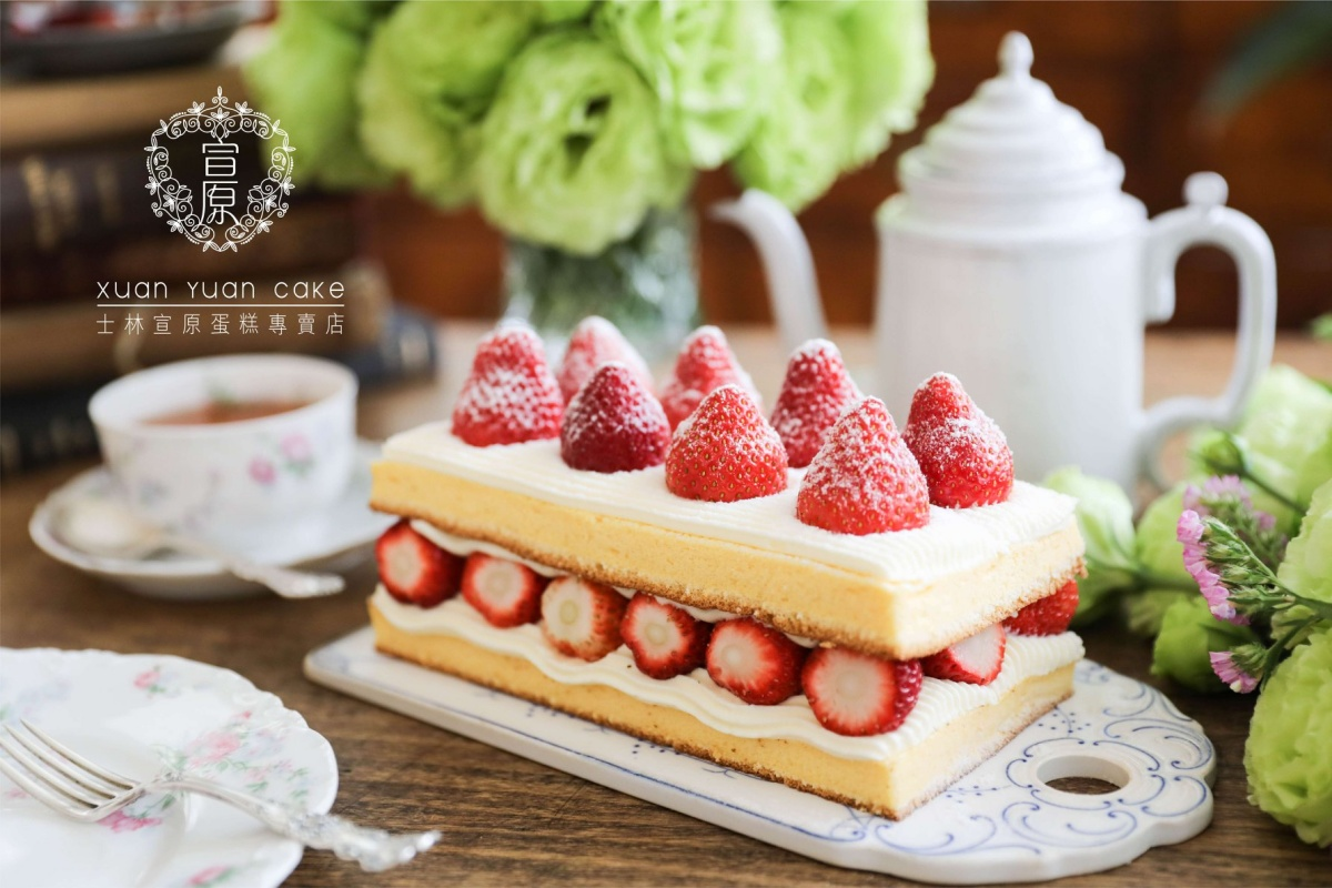 草莓控請收!2021最夯「Top 10草莓甜點」都在這:101草莓塔、棋盤蛋糕太欠吃