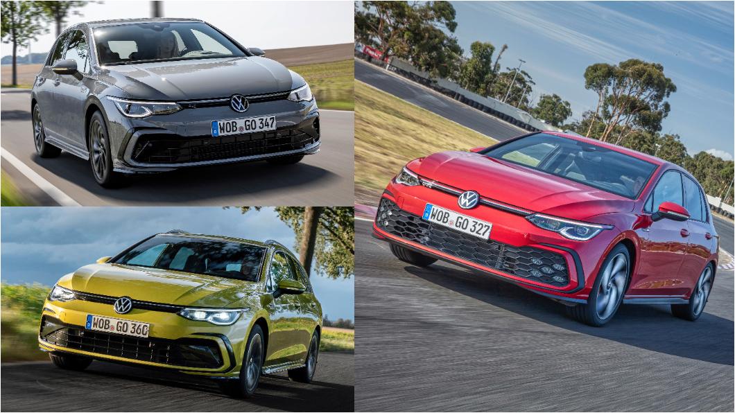 新世代Golf、Golf Variant與Golf GTI同步於Volkswagen Taiwan官網上架。(圖片來源/ Volkswagen) 8代Golf臺灣官網上架 旅行車與GTI有望同步發表