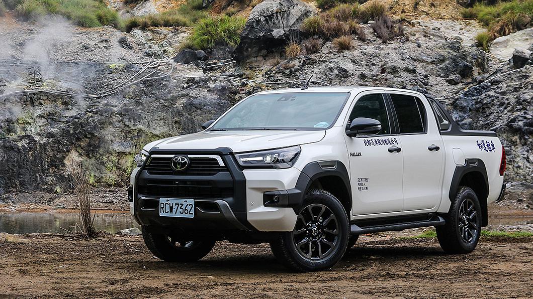 Toyota Hilux僅引進單一車型就成市場冠軍。 【試駕】Hilux舒適再進化 單一車型就賣爆
