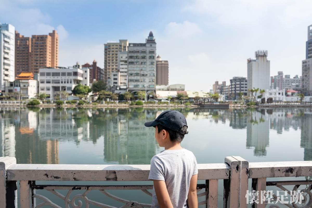 台南市中心最美生態公園!賞白鷺鷥群、談情說愛樹,順路玩親子最愛親水廣場