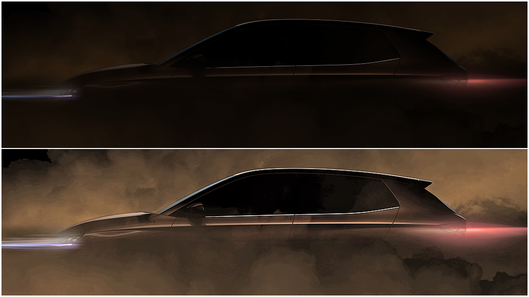 Škoda預告新世代Fabia將於今年第一季發表。(圖片來源/ Škoda) 新世代Fabia預告3月前現身 造型更帥行李同步加大