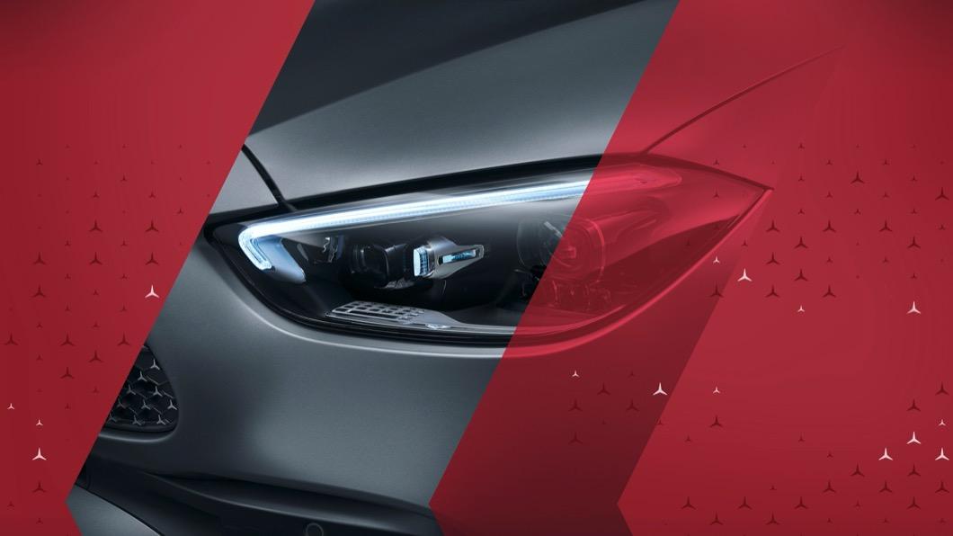 C-Class可以說是M-Benz相當重要的小型主管房車。(圖片來源/ M.Benz) 大改款C-Class造型曝光! 預約2/23全球首演