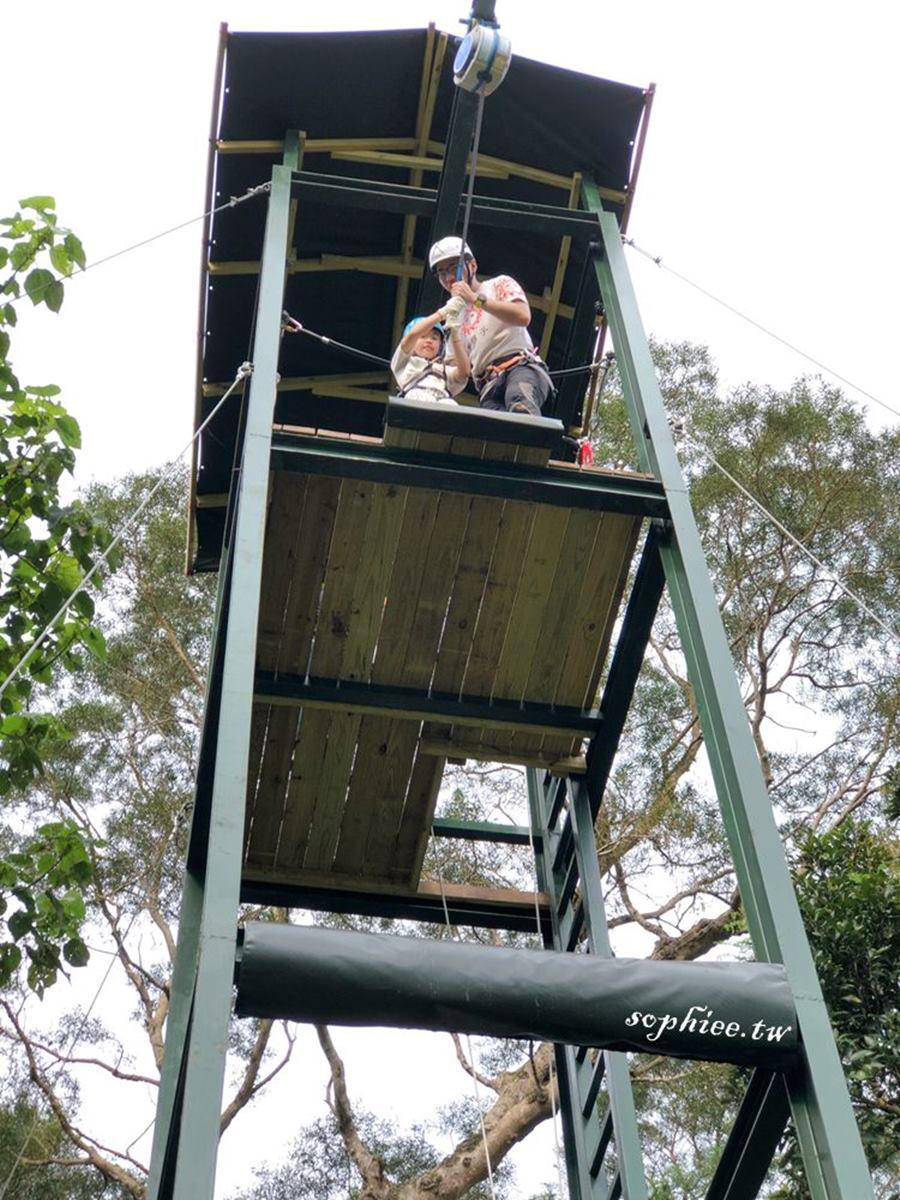 5到65歲都玩嗨!全台唯一「探險樂園」挑戰高塔跳躍、滑索,當1日森林泰山