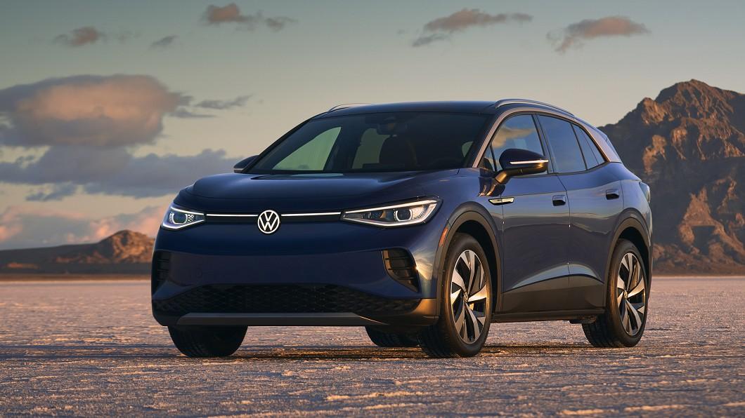 Volkswagen首款電動休旅ID.4即將登陸美國與特斯拉Model Y正面對決。(圖片來源/ Volkswagen) 殺入特斯拉主場 VW ID.4電動休旅3月登陸美國