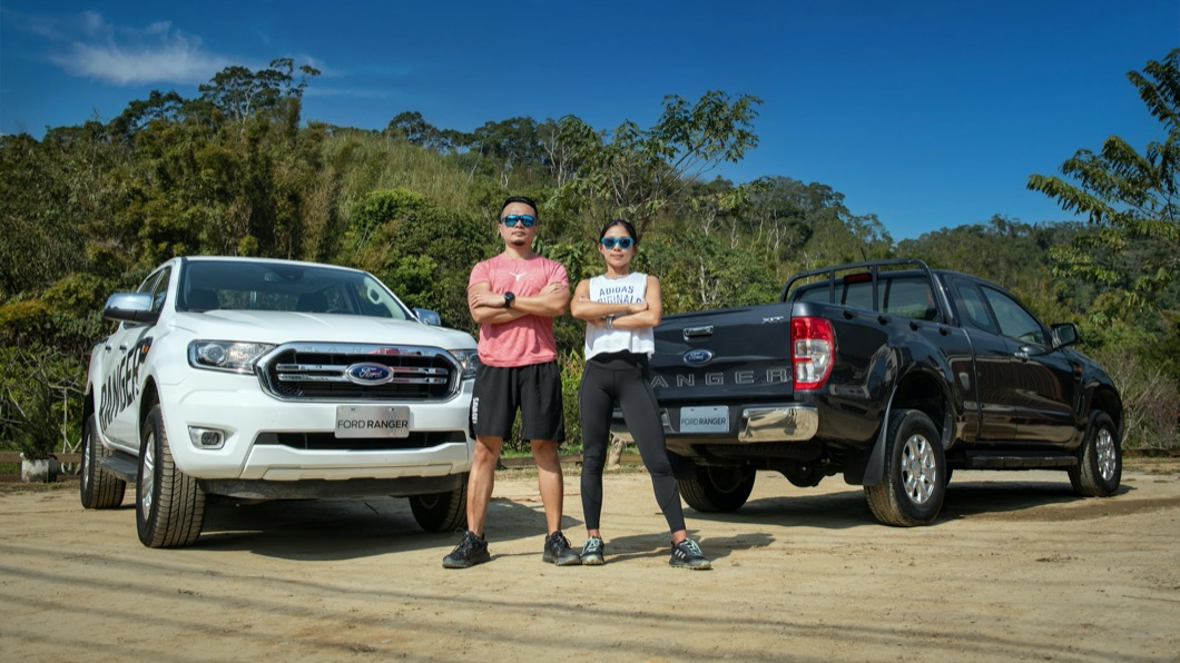 Ford關心車主健康,特別請到專業健身教練,教車迷朋友如何利用Ranger保持完美體態。(圖片來源/ Ford) Ranger變行動健身房? 教練傳授體態雕塑4大招
