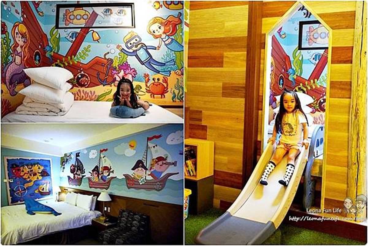 玩一天也不膩!住這家飯店免費泡湯、逛森林遊樂區,親子房還能溜滑梯、躺床上看星星