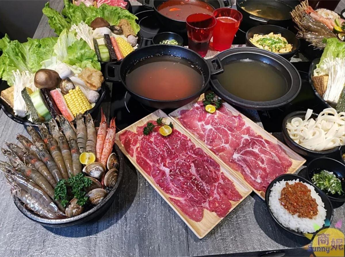 【新開店】海鮮控衝了!台中高CP值火鍋獨享龍蝦最低只要599元,隱藏版套餐有20隻蝦子