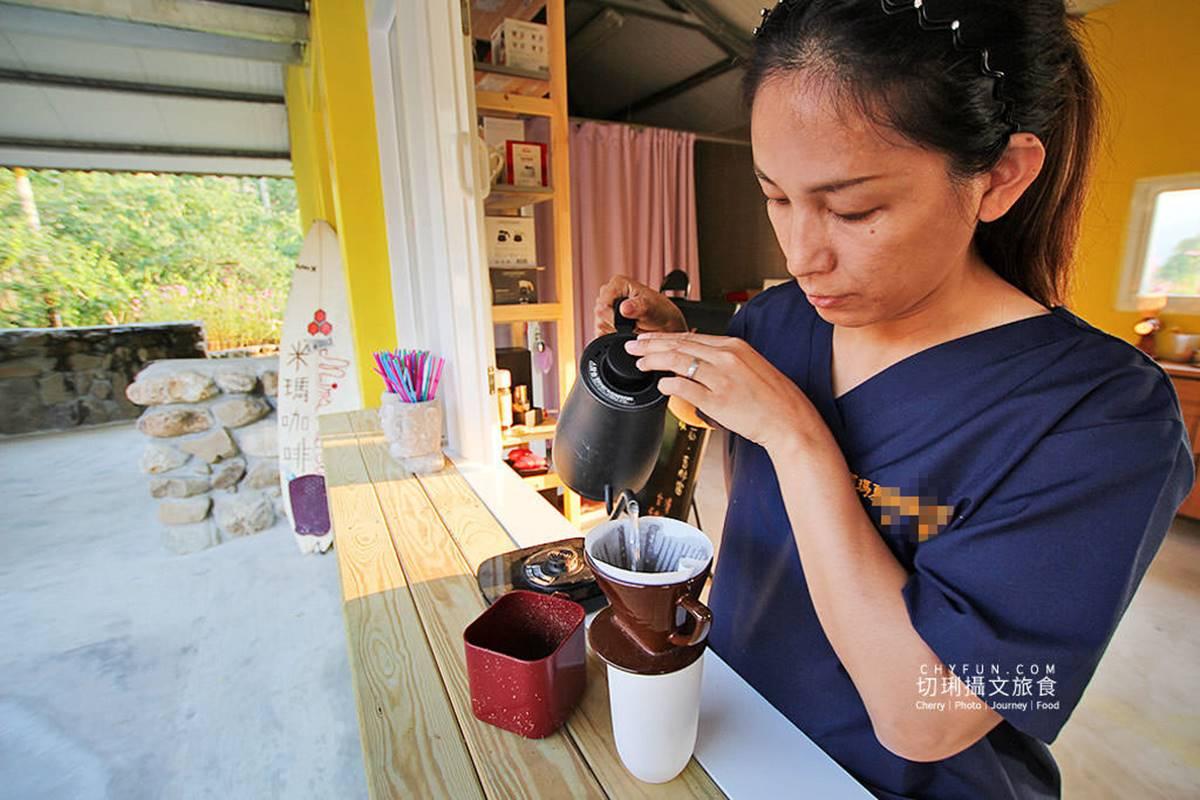 假日限定!庭園咖啡廳喝「自種自烘」手沖配山林美景,還能買自釀脆梅當伴手