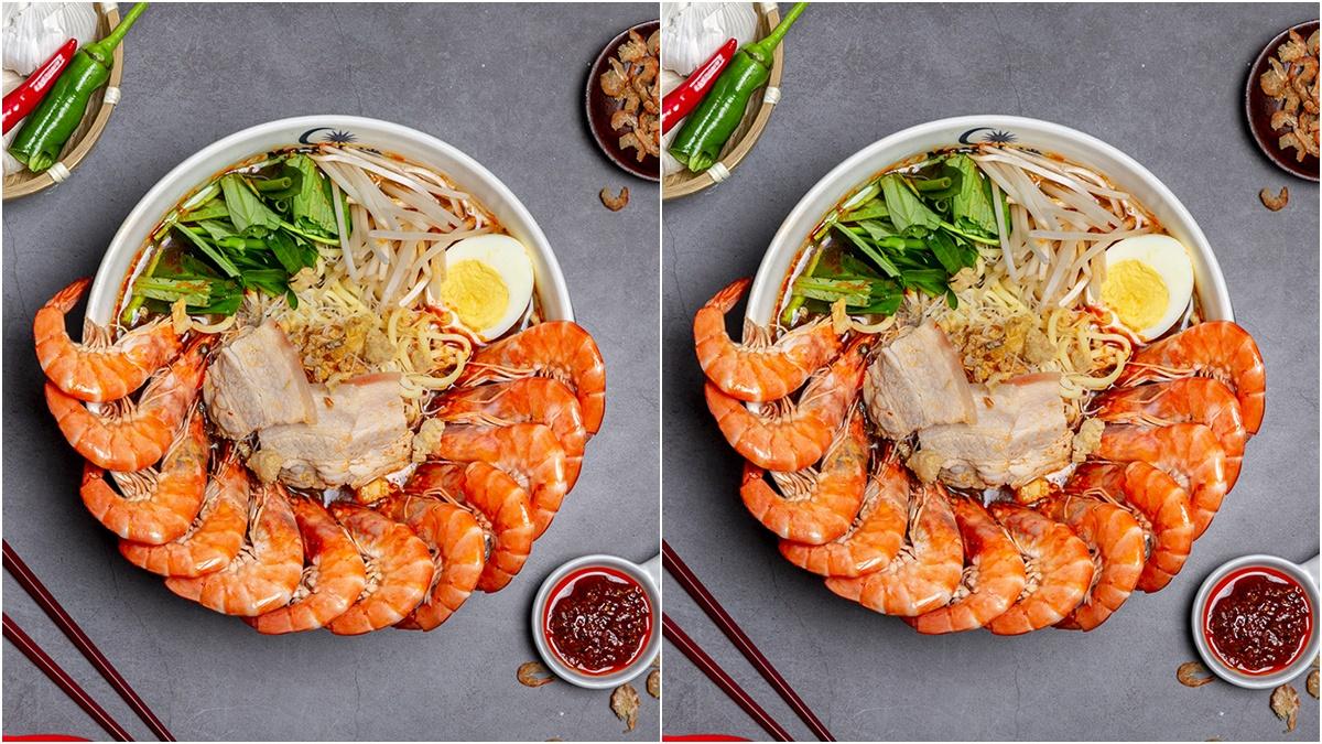 實在有夠蝦!人氣Mamak檔推一碗12隻超蝦新品,3月壽星直接升級到20隻