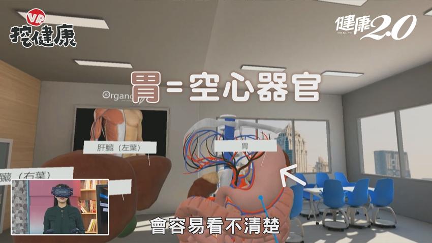 為何胰臟癌死亡率高?醫師直說「很難找!」 VR帶你揭開胰臟真面目