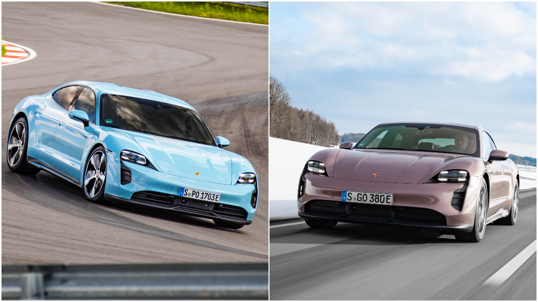 金屬冷冽藍與金屬冰莓粉兩種車色相當吸引女生關注。(圖片來源/ Porsche) Taycan冰莓粉跟冷冽藍不只吸睛 銷售表現更亮眼
