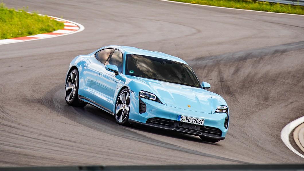 Porsche Taycan的推出成功讓品牌在電動跑車市場打響第一炮,也造成市場上熱烈迴響。(圖片來源/ Porsche) Porsche電動車聲勢大好 同步加碼投資Rimac電動跑車廠